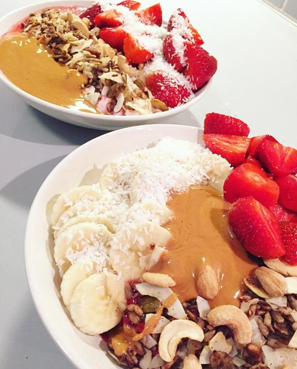 acai bowl kalorier