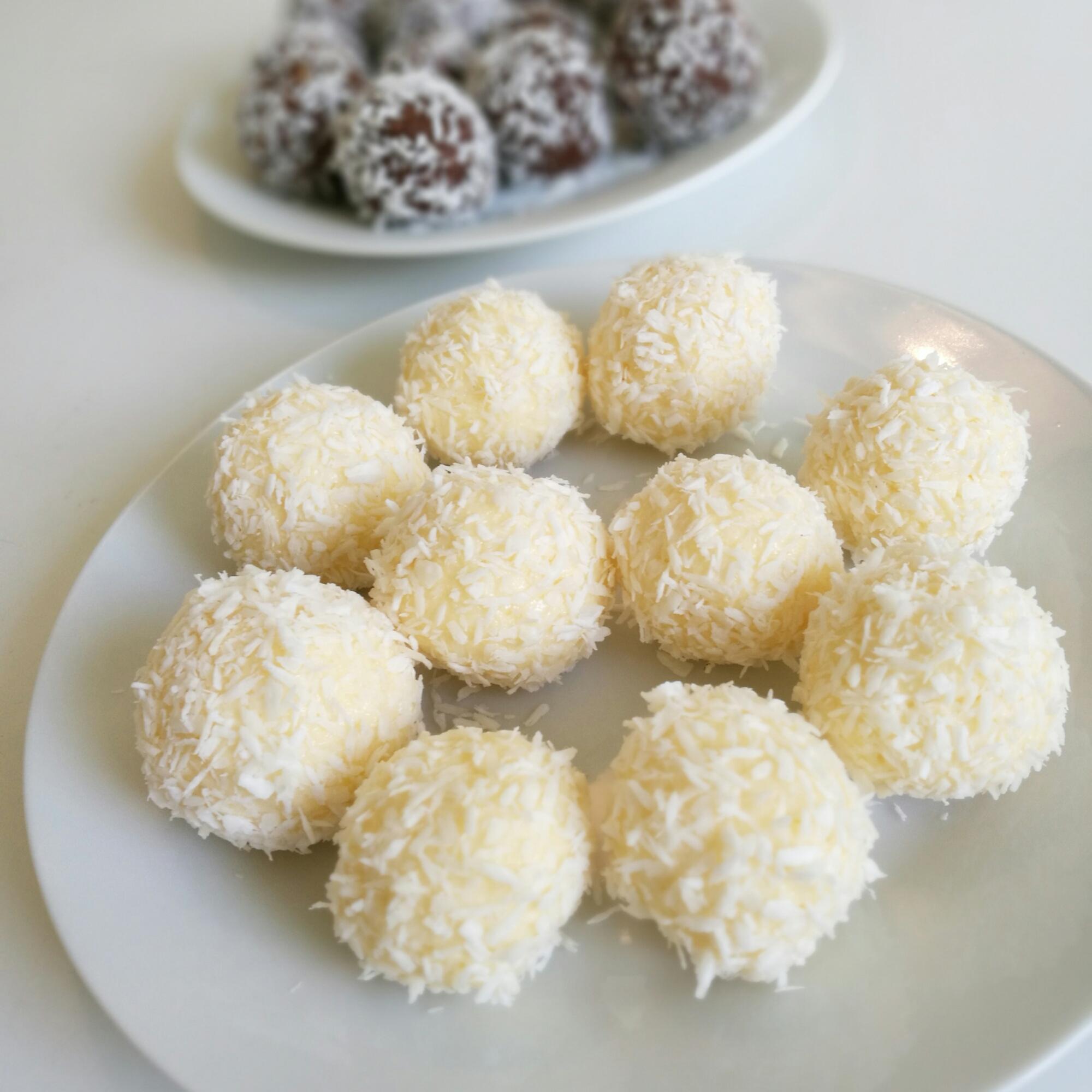 nyttiga kokosbollar recept